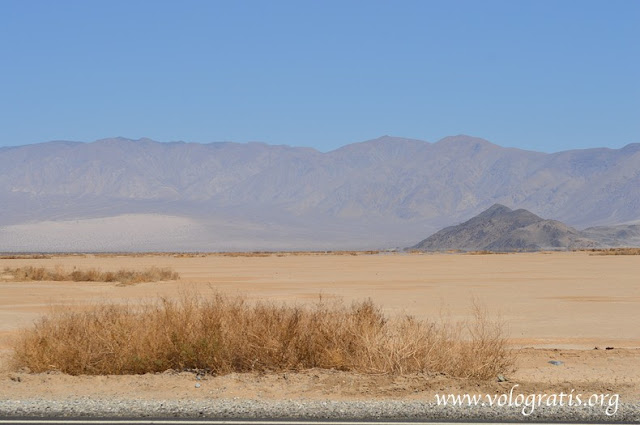 diario di viaggio death valley
