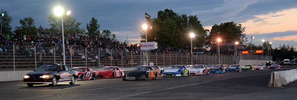 Oval Racing Stock Car Style In Qu Bec Ontario And New