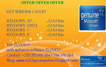 OFFER WINDOWS AND ANTIVIRUS 2014