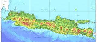 Peta Pulau Jawa