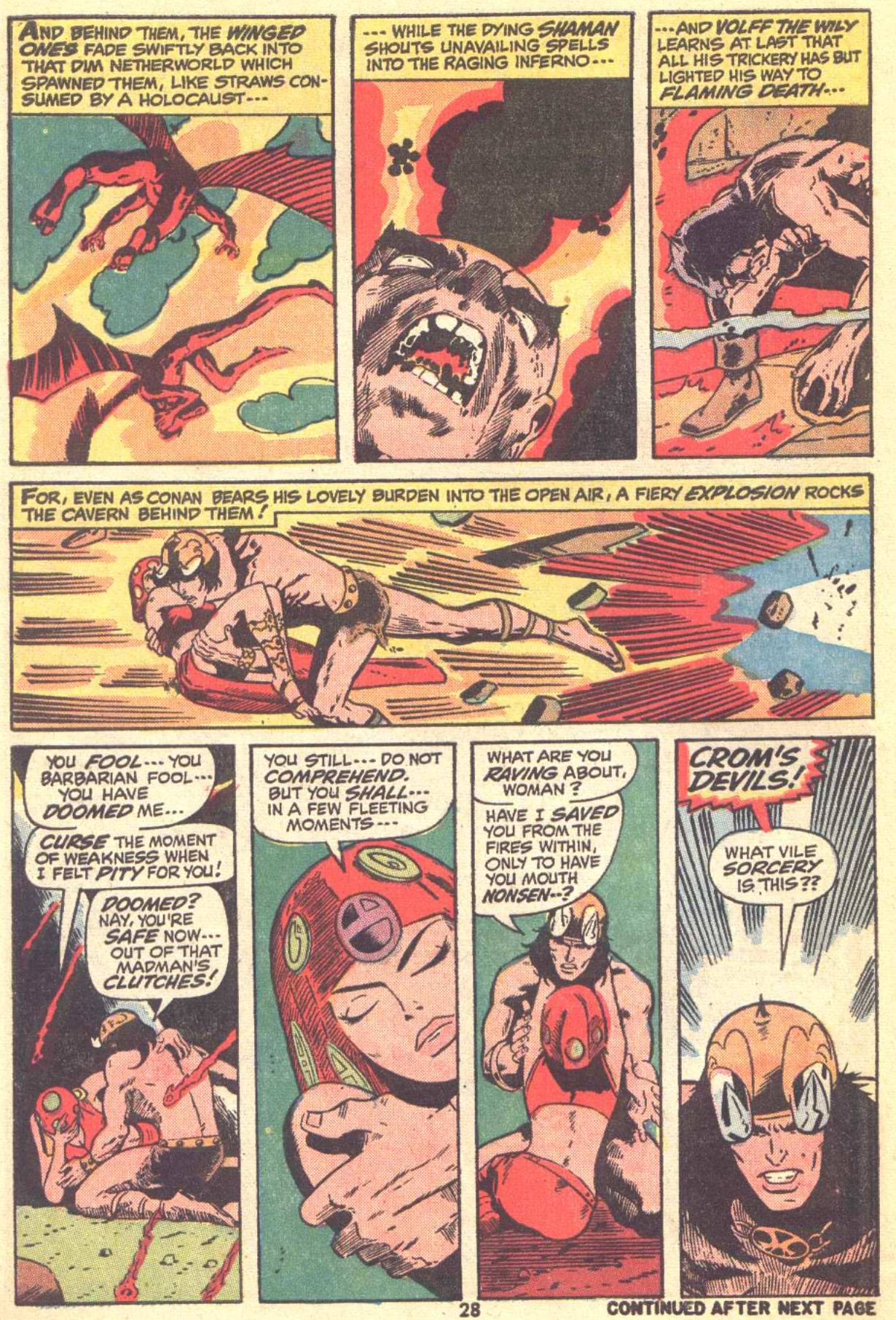 Conan the Barbarian (1970) Issue #22 #34 - English 20