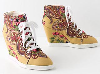 Purple Wedge Shoes Uk