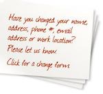 Change Your Address?