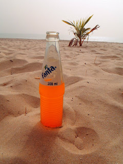 Africa Gambia, On the Paradise beach