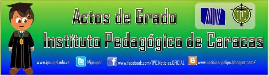 Actos de Grado UPEL-Caracas