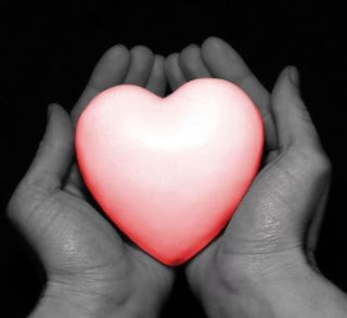 love pictures: heart in hands