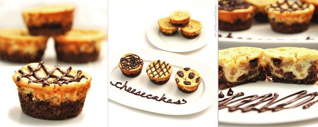 cheesecake cupcake trio Returning Home and a Cheesecake Recipe!