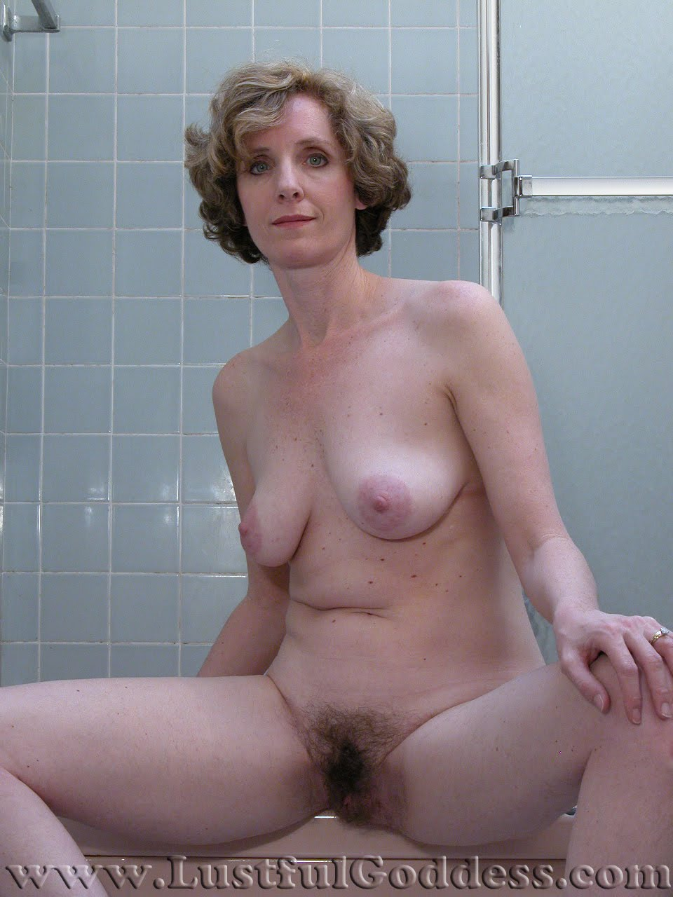 Hairy blonde sex