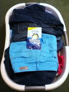 Woolite laundry