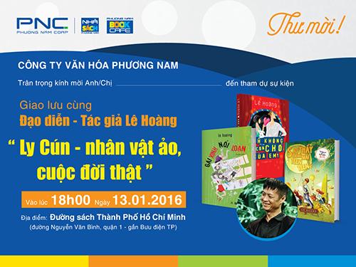 Giao luu Le Hoang Ly Cun Nhan vat ao cuoc doi that
