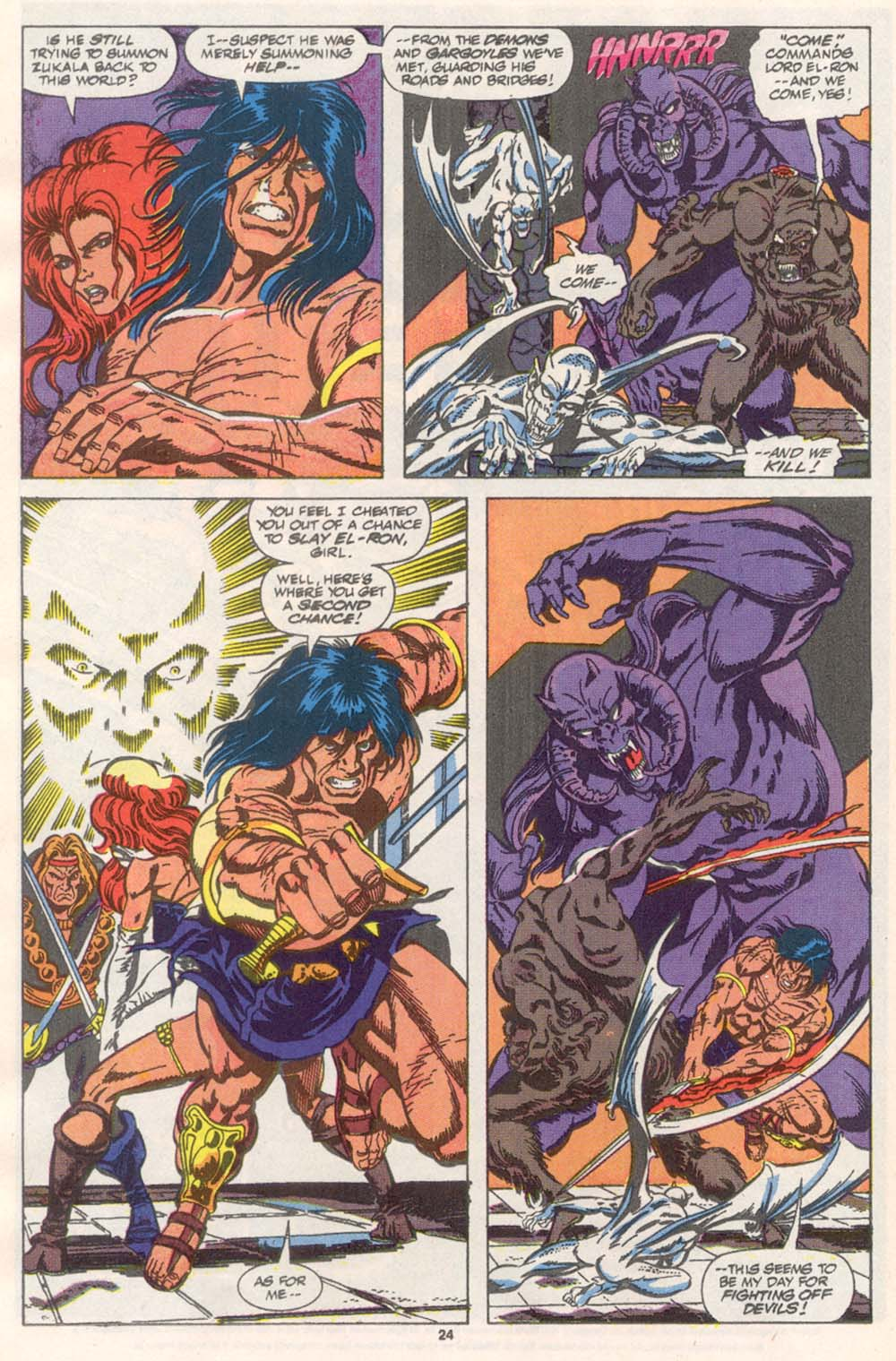 Conan the Barbarian (1970) Issue #243 #255 - English 19