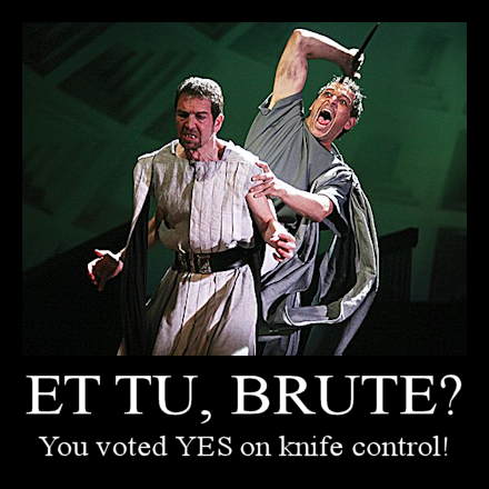Julius Caesar and Brutus