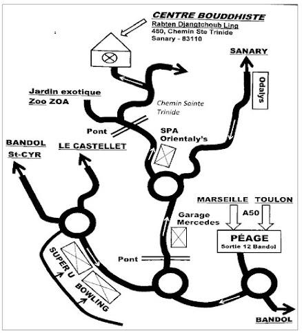Plan d'accès au site