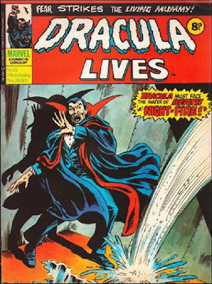 Marvel UK, Dracula Lives #58