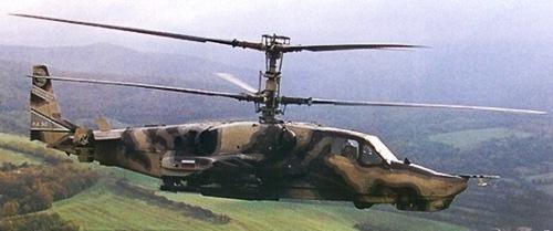 Helikopter Tempur Ka-50