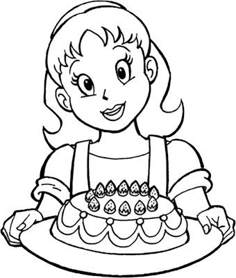 Dia da Mulher para colorir