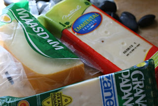 Pasta de espinacas con salsa tres quesos  IMG_3345