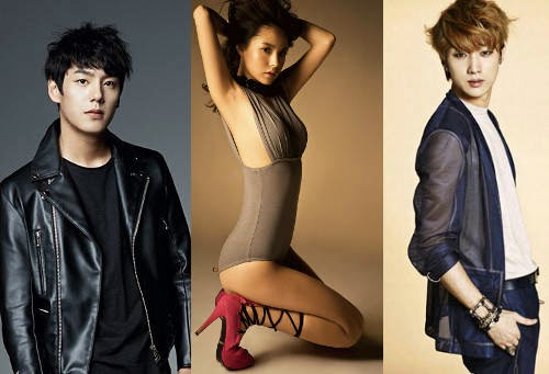 Kwak Si Yang, Min Hyo Rin e Jinyoung