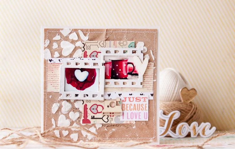 Ручная работа Кокоревой Анны, ручная работа, рукоделие, скрап, скрапбукинг, скрапоткрытки, открытки, открытки своими руками, открытки ручной работы, scrap, scrapbooking, handmade, card, card handmade, Valentine's day, открытки на день святого валентина