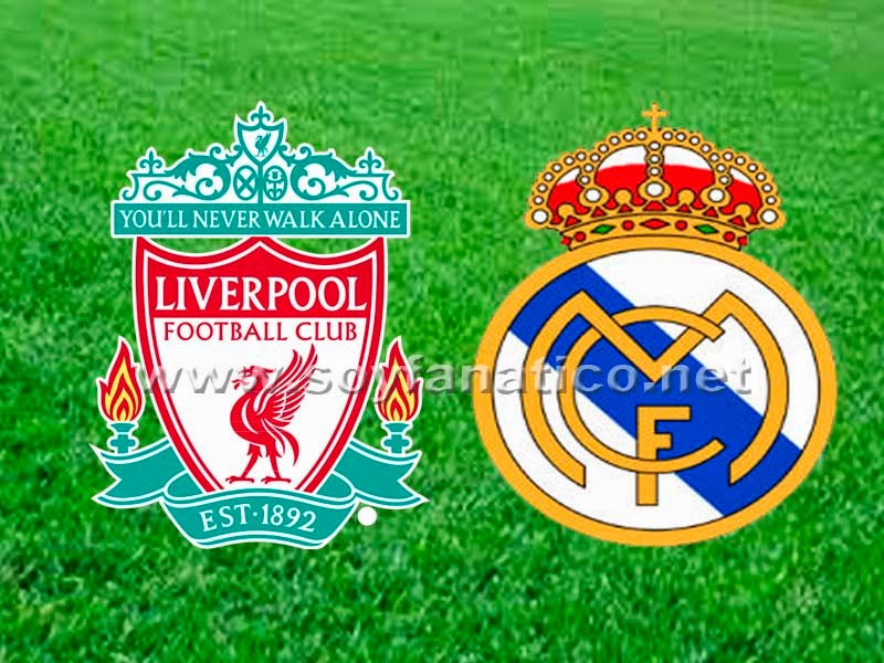 Liverpool vs Real Madrid Champions 2014