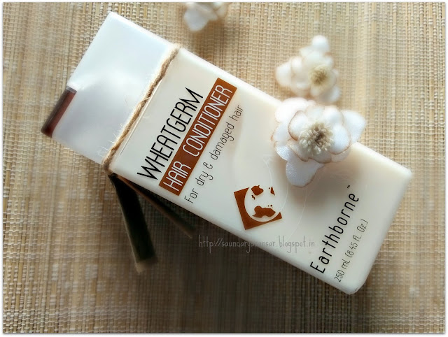 The Natures Co Wheatgerm Hair Conditioner Review