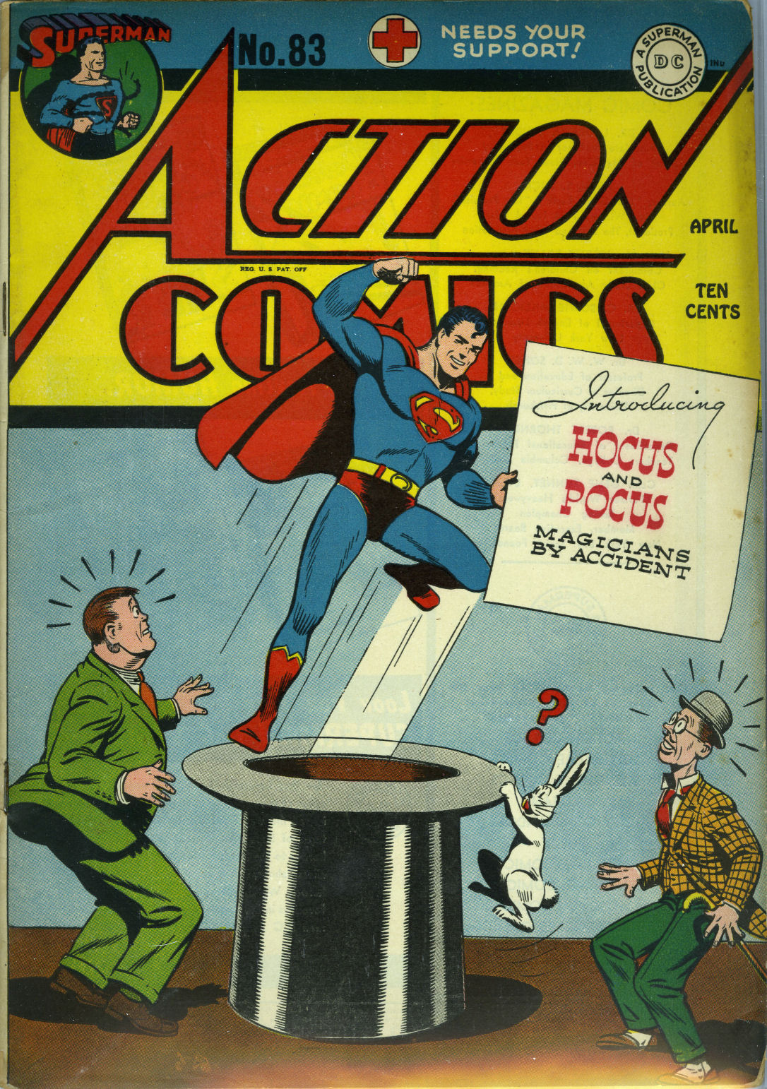 Action Comics (1938) 83 Page 1