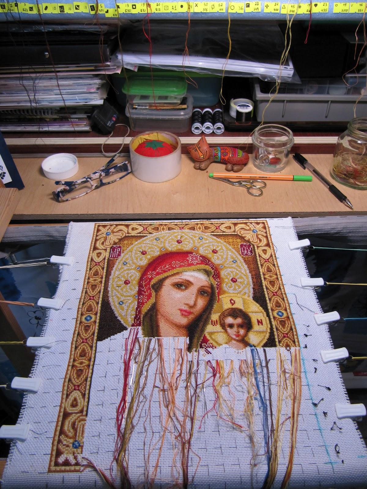 казанская пресвятая богородица стоянка схема иванова