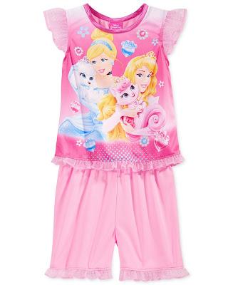 Baju Tidur Anak Perempuan Motif Princess Disney Terbaru 2016