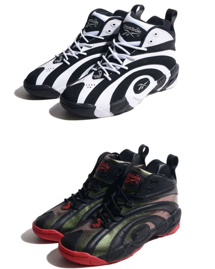 5a5055feceb Here is a look at the upcoming colorways of the Reebok Shaqnosis Retro  Sneaker