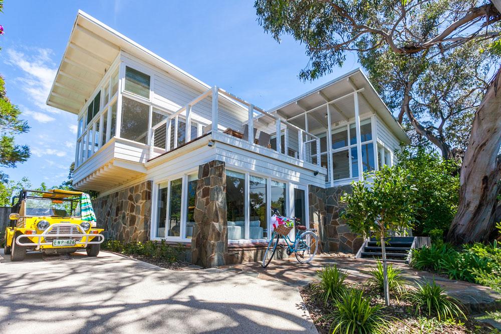 Coastal style for Beach house designs nsw