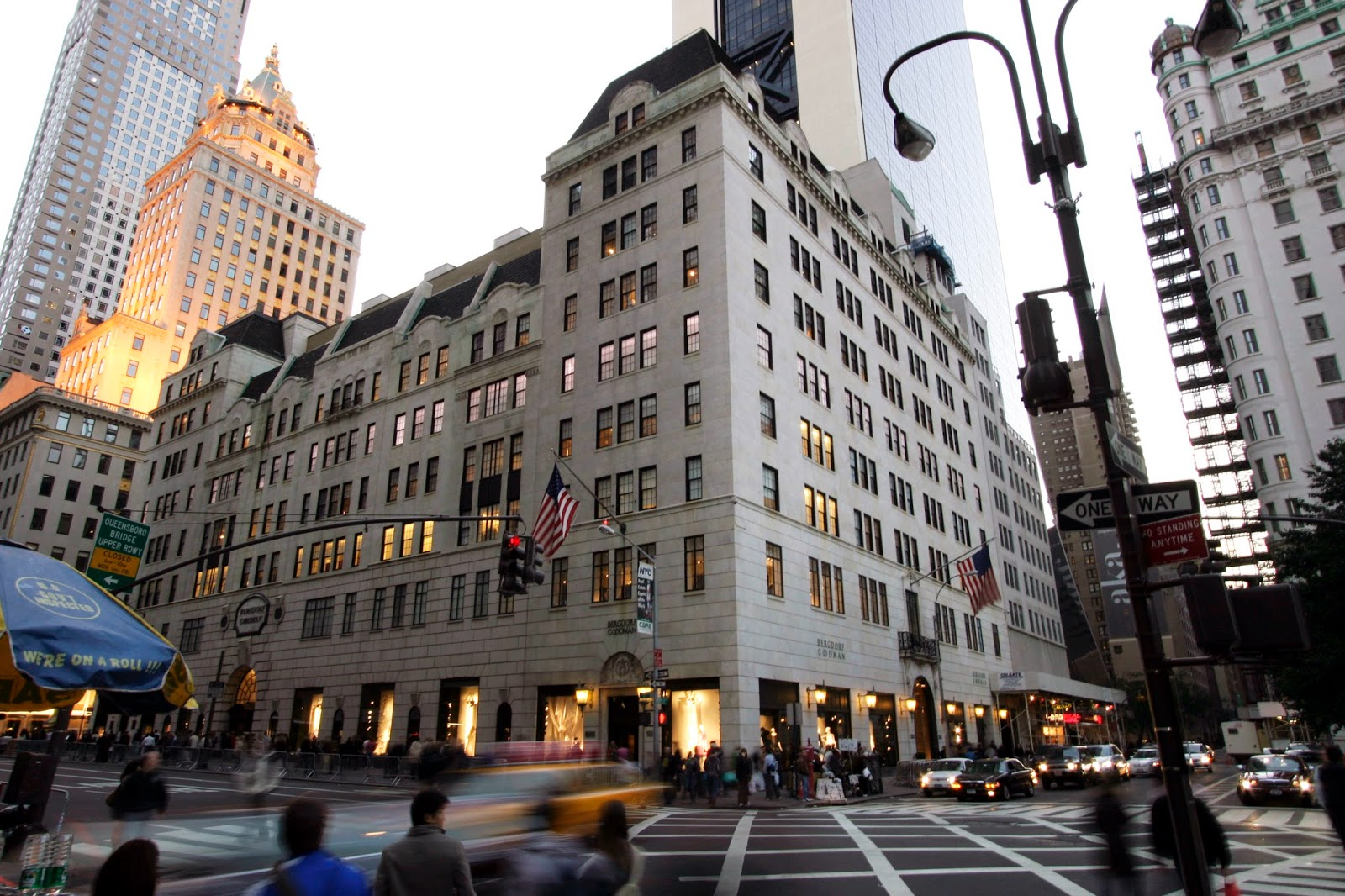 Scatter my ashes at Bergdorfs, Bergdorfs