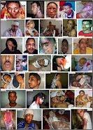 Algunas fotos de víctimas de la represión marroquí