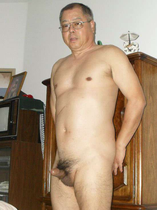 asian men old Oriental daddies gay naked