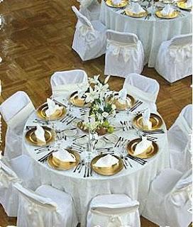 Decoraci n de mesas para fiestas parte 1 - Manteles originales ...