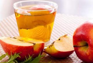 cuka sari apel untuk mengurangi bau apek rambut