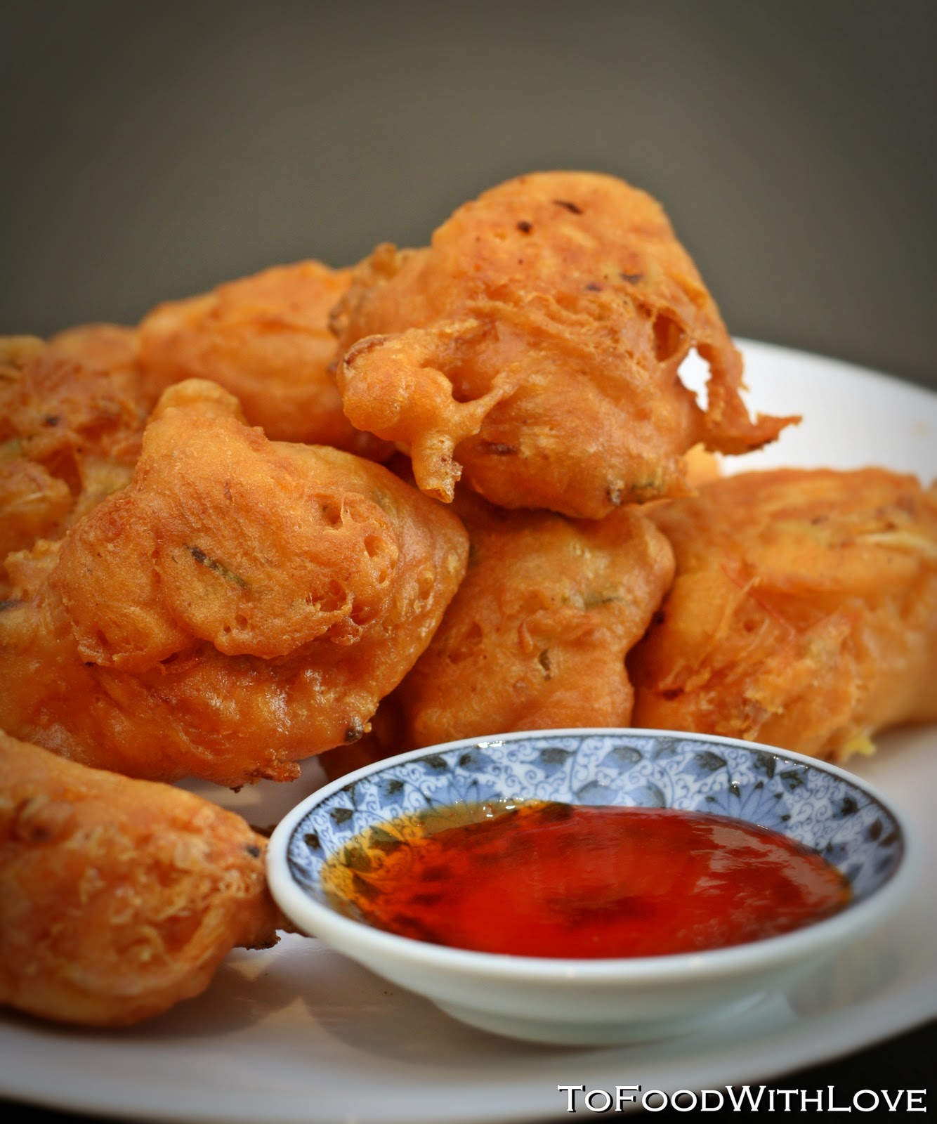 ... was nice and cucur udang prawn fritters cucur udang prawn fritters