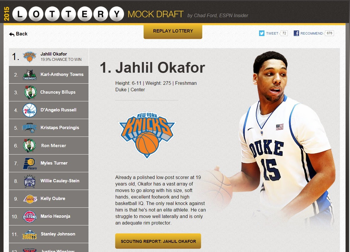 draft lottery machine