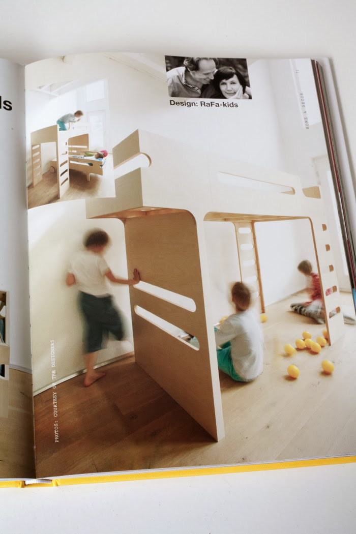 bunk bed Rafa-kids in braun book kids' design