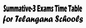 Rc 405 TS Summative-3(SA-III)-PS,UPS,HS Annual Exams Time Table