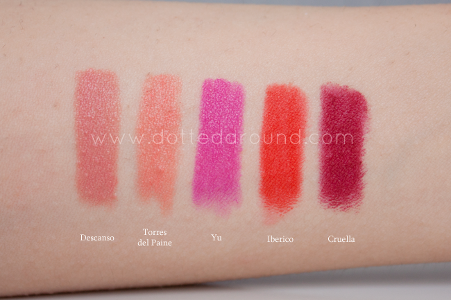 nars digital world lip pencils swatches