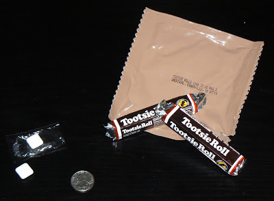 MRE Review: Menu 8, Tootsie Rolls
