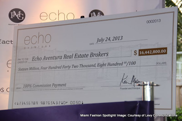 Aventura's most prestigious property Echo Aventura hosted Summer Soiree