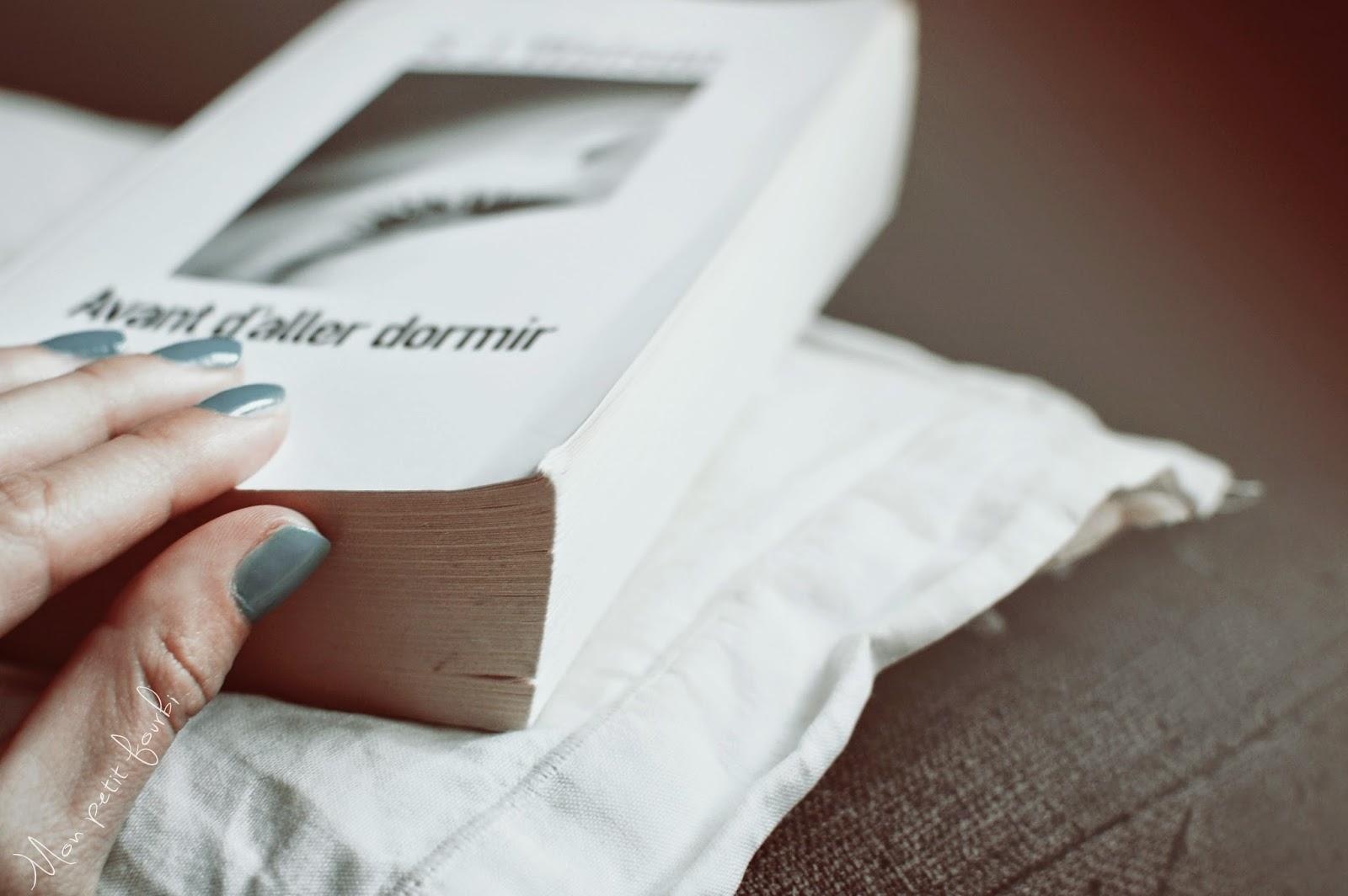 """Couverture Livre """"Avant d'aller dormir"""" de S.J Watson"""