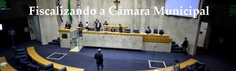 Fiscalizando a Câmara de São Paulo
