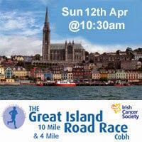 10 mile race in Cobh with a new 4 mile race this year as well