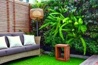 Jardín en balcón