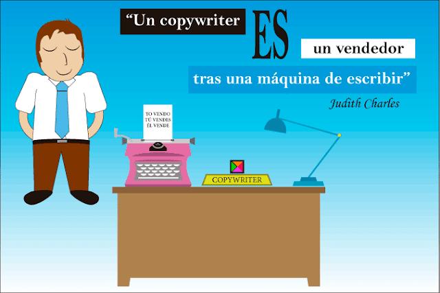 El copy es un vendedor tras un escritorio