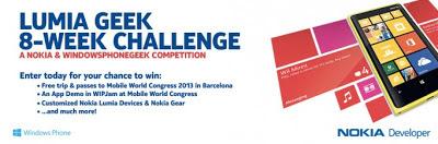 Lumia 8 week challenge