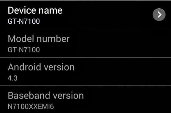 Долгожданное Обновление Android 4.3