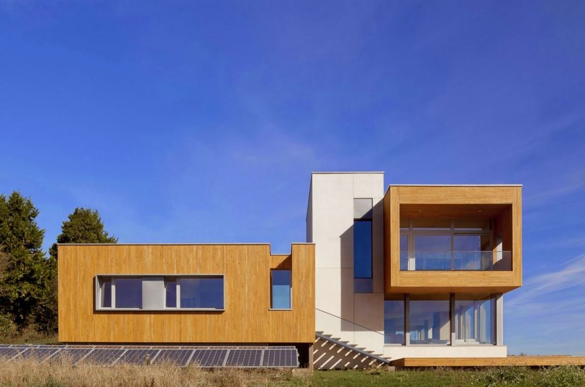 Minimalist architecture house
